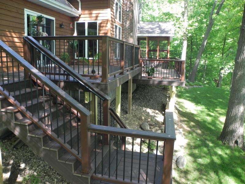 Trex Deck and railing