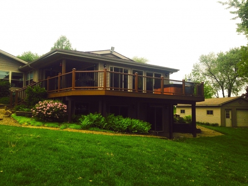 Trex Transcend Deck and Railing