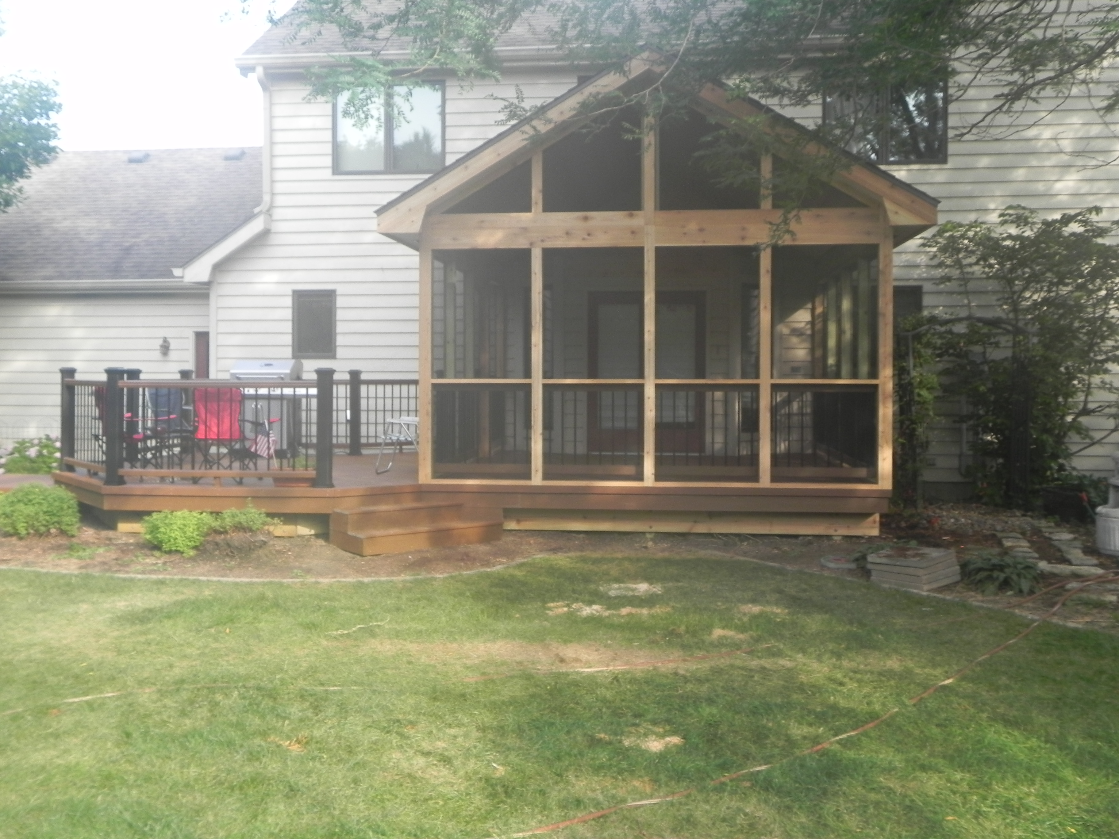 Screen Room and Trex Deck