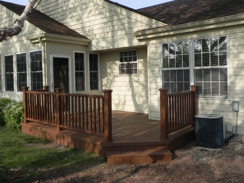 Trex Decks - View Our Gallery of Trex Decking Projects on Small Deck Ideas For Small Backyards id=27933